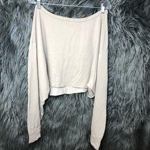 Fashion nova nude sweatshirt